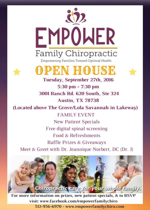 empower-family-chiropractic-open-house-event